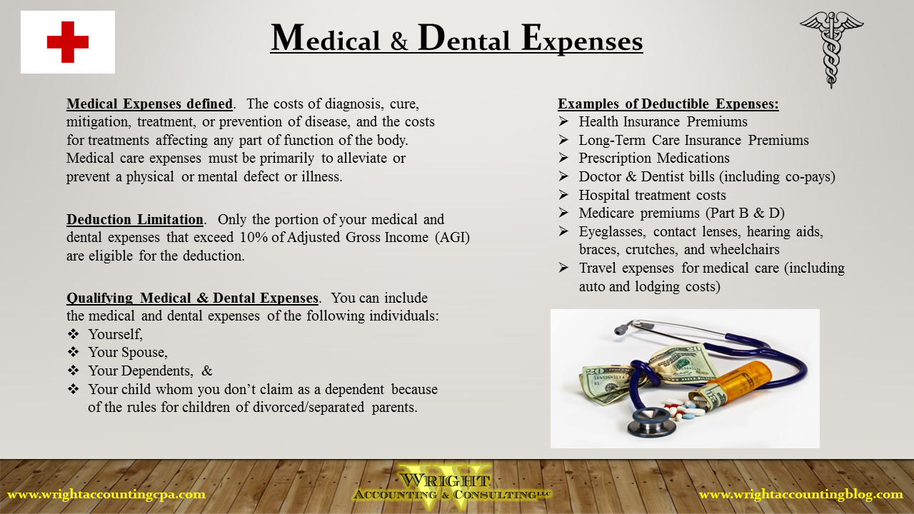 Medical & Dental Expenses
