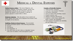 Medical & Dental Expenses Infographic