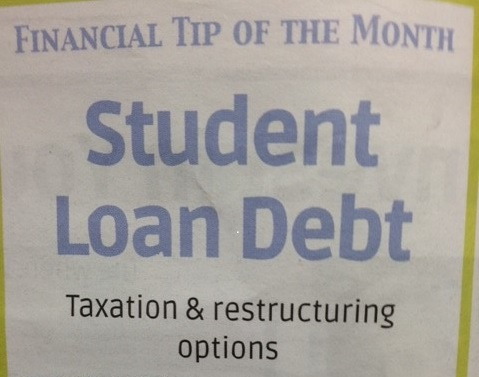 Published Article - Student Loan Debt crop
