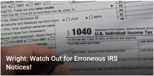Watch Out IRS Notices