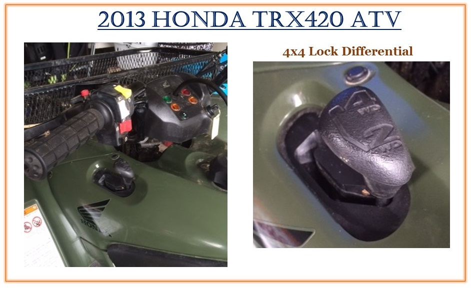 ATV 4x4 Lock Differential crop