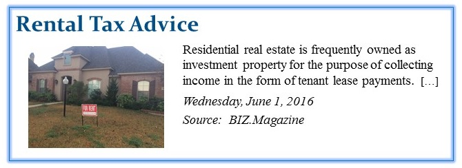 Rental Tax Advice crop