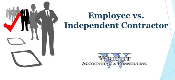 employee or contractor | Wright Accounting CPA