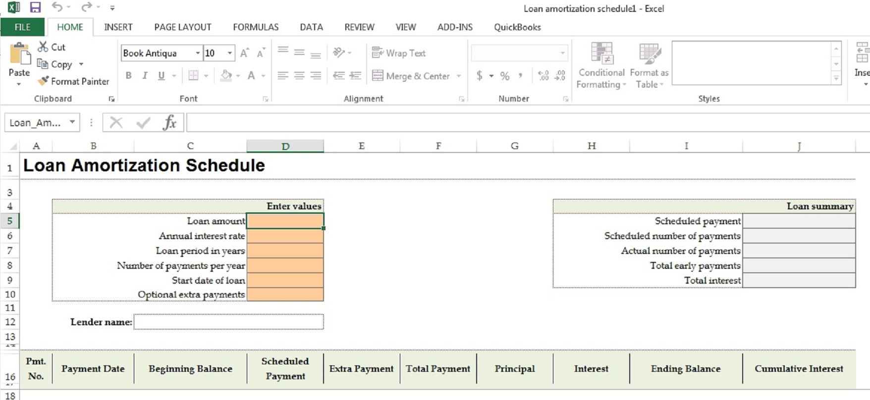 loan amortization schedule template enlarged wright accounting cpa